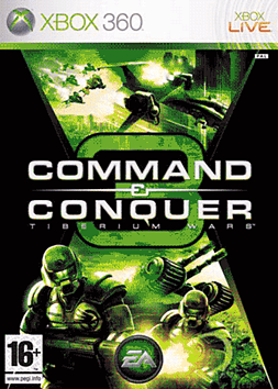 Command & Conquer 3: Tiberium Wars Xbox 360 Cover Art