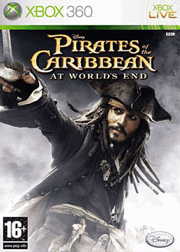 Pirates of the Caribbean: At Worlds End Xbox 360 Cover Art