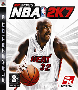 NBA 2K7 PlayStation 3 Cover Art