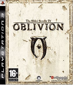 The Elder Scrolls IV: Oblivion PlayStation 3 Cover Art