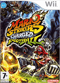 Mario Strikers Charged Football Wii Cover Art