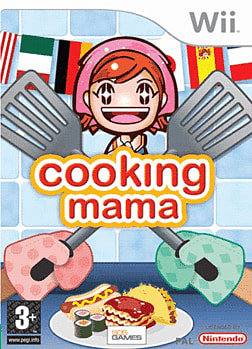 Cooking Mama Wii Cover Art