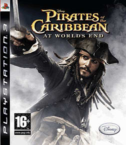 Pirates of the Caribbean: At Worlds End PlayStation 3 Cover Art