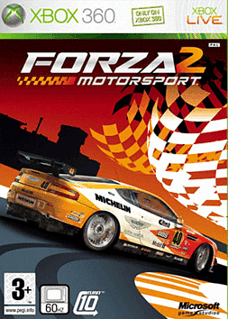 Forza Motorsport 2 Xbox 360 Cover Art
