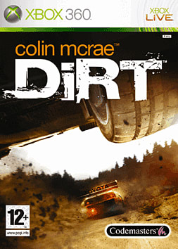Colin McRae: DIRT Xbox 360 Cover Art