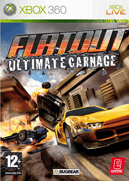 Flatout: Ultimate Carnage Xbox 360 Cover Art