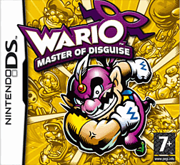 Wario: Master of Disguise DSi and DS Lite Cover Art