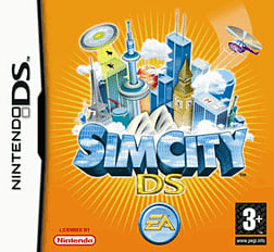 Sim City DSi and DS Lite Cover Art