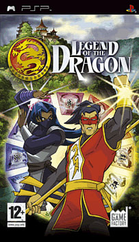 Legend of the Dragon PSP Cover Art