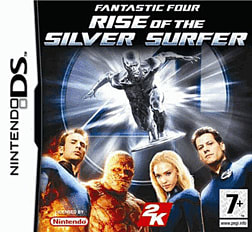 Fantastic Four: Rise of The Silver Surfer DSi and DS Lite Cover Art