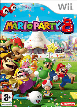 Mario Party 8 Wii Cover Art
