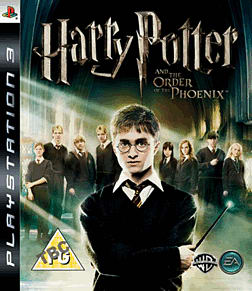 Harry Potter and the Order of the Phoenix PlayStation 3 Cover Art