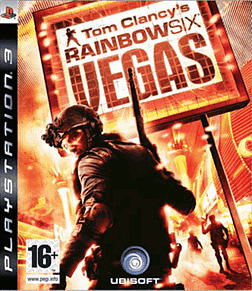 Tom Clancy's Rainbow Six Vegas PlayStation 3 Cover Art