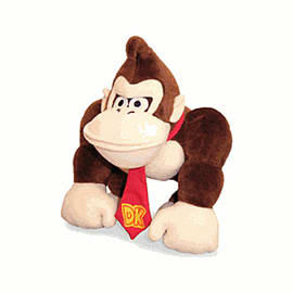 Nintendo Donkey Kong Plush 35cm Toys and Gadgets