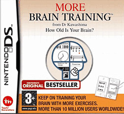 More Brain Training from Dr. Kawashima DSi and DS Lite Cover Art