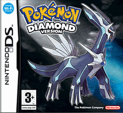 Pokemon Diamond DSi and DS Lite Cover Art