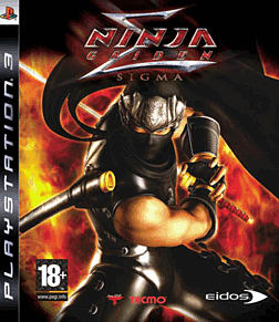 Ninja Gaiden Sigma PlayStation 3 Cover Art