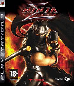 Ninja Gaiden Sigma PlayStation 3 Cover Art