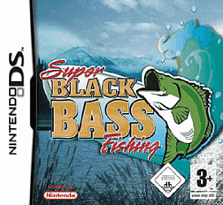 Super Black Bass Fishing DSi and DS Lite Cover Art