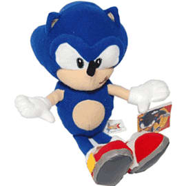 Sonic the Hedgehog Beanie Toys and Gadgets