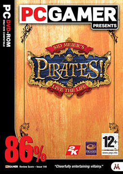Sid Meier's Pirates! PC Games and Downloads Cover Art