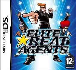 Elite Beat Agents DSi and DS Lite Cover Art