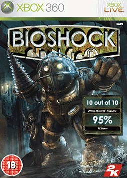 BioShock Xbox 360 Cover Art
