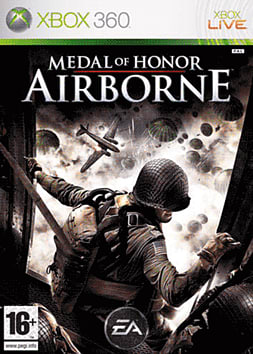 Medal Of Honor: Airborne Xbox 360 Cover Art