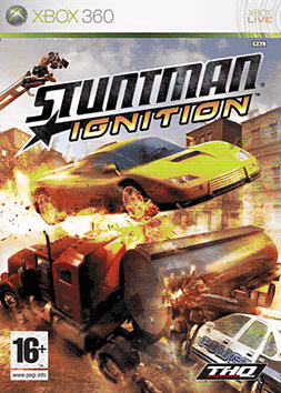 Stuntman: Ignition Xbox 360 Cover Art