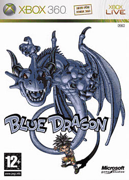 Blue Dragon Xbox 360 Cover Art