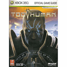 Too Human Strategy Guide Strategy Guides and Books