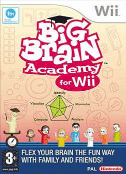 Big Brain Academy: Wii Degree Wii Cover Art