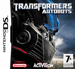 Transformers: The Game - Autobots DSi and DS Lite Cover Art
