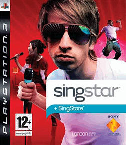 Singstar for PlayStation 3 PlayStation 3 Cover Art