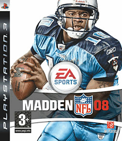 Madden NFL 08 PlayStation 3 Cover Art