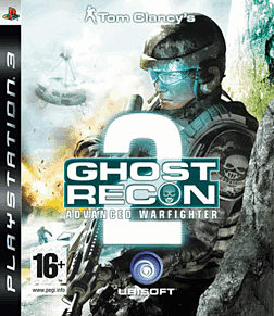 Tom Clancy's Ghost Recon Advanced Warfighter 2 PlayStation 3 Cover Art
