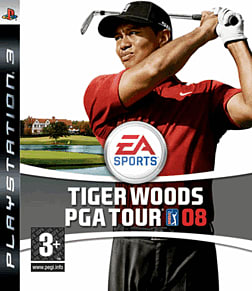 Tiger Woods PGA Tour 08 PlayStation 3 Cover Art
