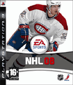 NHL 08 PlayStation 3 Cover Art