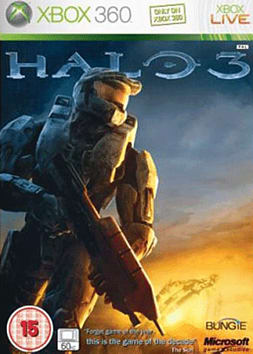 Halo 3 Xbox 360 Cover Art