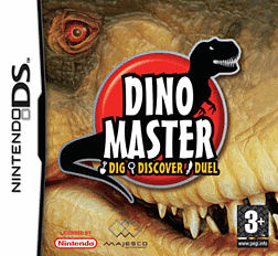 Dino Master DSi and DS Lite Cover Art