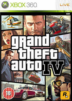 Grand Theft Auto IV Xbox 360 Cover Art