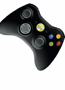 Xbox 360 Wireless Controller - Black Accessories
