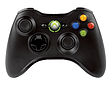 Official Xbox 360 Wireless Controller - Black Accessories