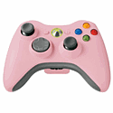 Xbox 360 Official Wireless Controller: Pink Accessories