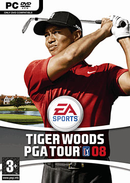 Tiger Woods PGA Tour 08 PC Games and Downloads Cover Art