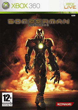 Bomberman Act: Zero Xbox 360 Cover Art