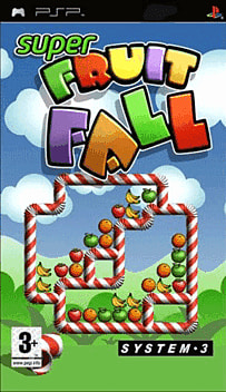 Super Fruitfall PlayStation 2 Cover Art