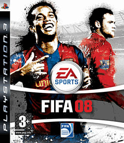 FIFA 08 PlayStation 3 Cover Art