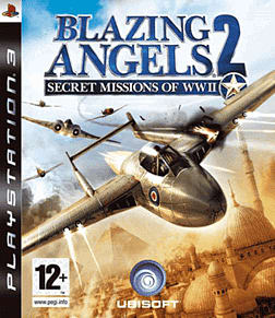 Blazing Angels 2: Secret Missions of World War II PlayStation 3 Cover Art