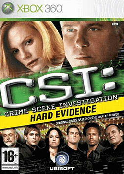 CSI: Crime Scene Investigation - Hard Evidence Xbox 360 Cover Art